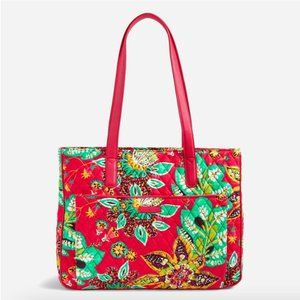 Vera Bradley Commuter Tote Rumba with Red NWT